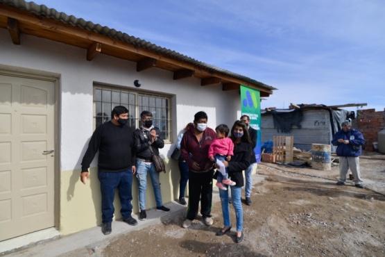 Se entregó nuevo mejoramiento habitacional a vecino que espera un trasplante