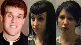 Detuvieron a un cura que organizó una fiesta sexual en el altar de una iglesia