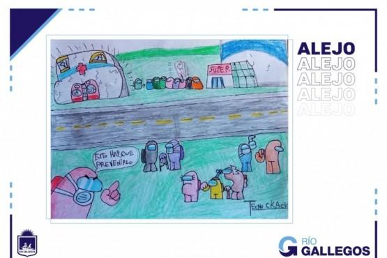 """Un dibujo de """"Alejo"""" seleccionado para la """"Campaña contra la contaminación sonora"""""""
