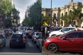 Manifestación contra el Gobierno Nacional