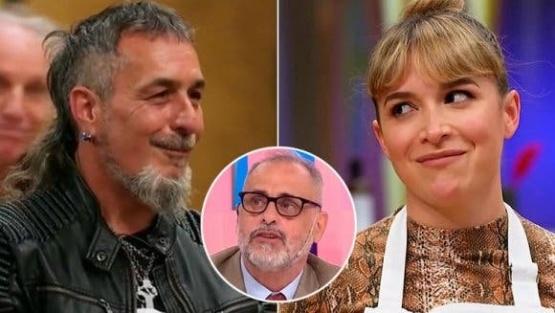Jorge Rial contó un explosivo rumor de romance en MasterChef Celebrity