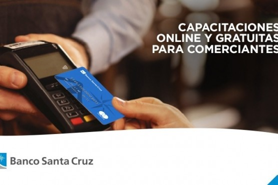 El Banco Santa Cruz lanza una capacitación virtual gratuita para comerciantes
