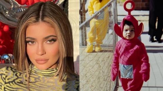 Las tiernas fotos retro de Kylie Jenner, luciendo sus disfraces favoritos de Halloween