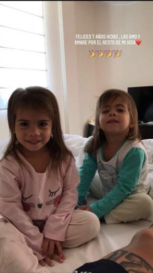 El mensaje de Matías Defederico por el cumple de sus hijas