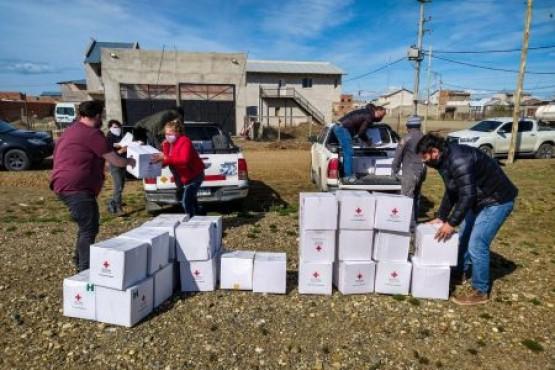 Entregaron kits de insumos a la Red de Mujeres Solidarias