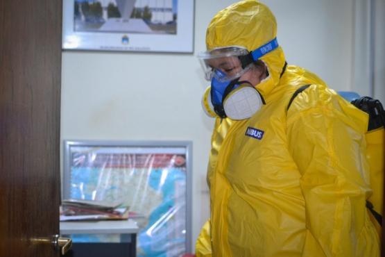 Acciones COVID: Inspectoría realiza amplios operativos para evitar propagación de virus y plagas