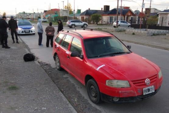 Secuestran auto por robo (Foto: Cristian González)