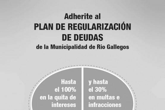 Con importantes descuentos, sigue vigente el Plan de Regularización de Deuda
