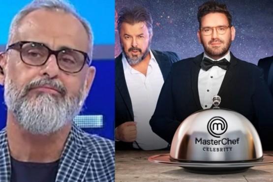 Lapidaria ironía de Jorge Rial sobre MasterChef Celebrity