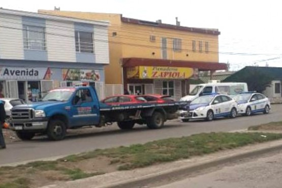 Río Gallegos| Un efectivo herido en un control