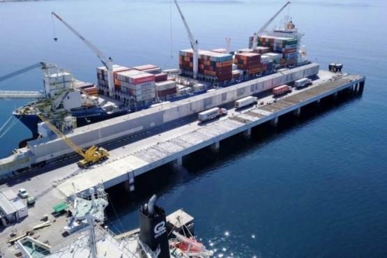 En un mes estará finalizada la obra del Sitio 2 en el Muelle Almirante Storni