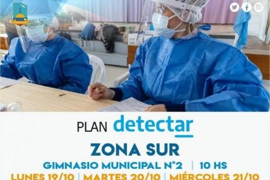 Plan detectar en el Gimnasio Municipal Número Dos