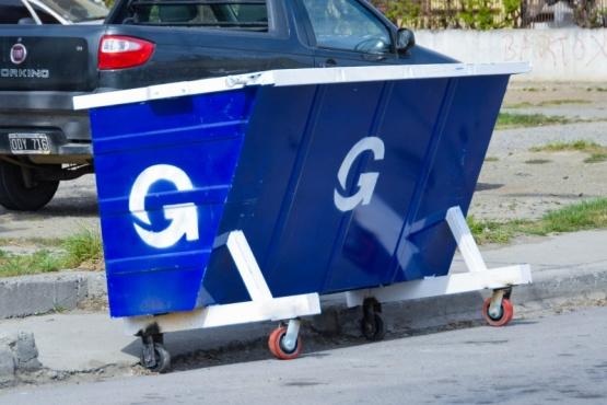 Municipio lleva adelante recambio de contenedores en los barrios