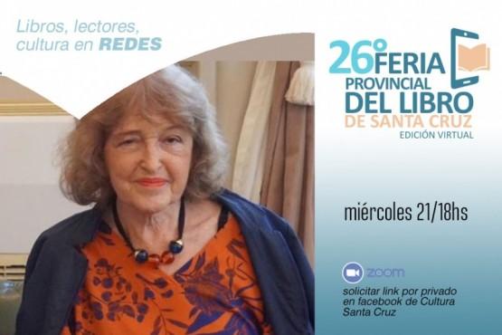 Adriana Puiggrós presentará su libro en la Feria Provincial del Libro