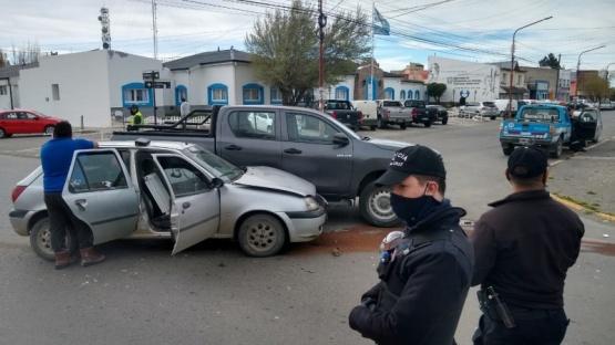 Se suma otro choque en Río Gallegos
