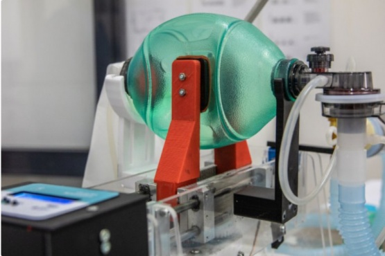 ANMAT aprobó un respirador mecánico diseñado de bajo costo en Rafaela