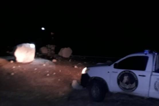 Sarmiento| Precaución ante caída de rocas en la ruta