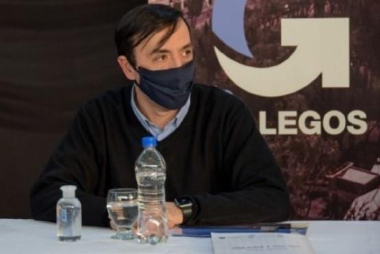 Grasso quiere una prueba con El Calafate y El Chaltén.