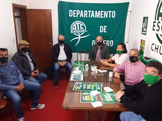 ATE y legisladores analizaron la situación provincial