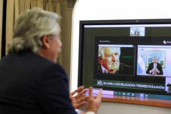 Alberto fue entrevistado por Mujica