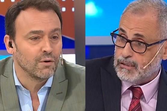 Jorge Rial y Adrián Pallares tuvieron un fuerte cruce en Intrusos