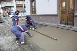Municipio realizó mejoras en la arboleda del albergue provincial