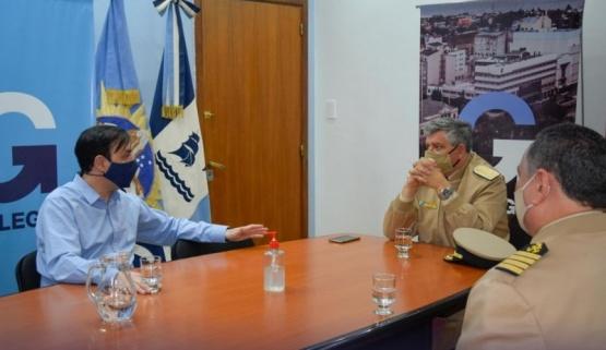 Visita protoclar de Prefectura al Municipio