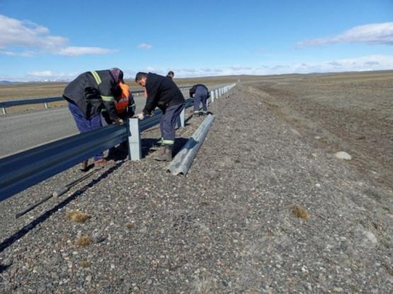Realizan mantenimiento de la Ruta Nacional 40