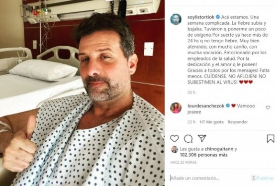 José María Listorti dio detalles de su salud, tras contraer covid