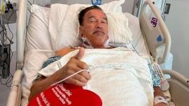 Arnold Schwarzenegger se recupera de la operación del corazón
