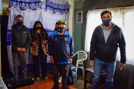 Intendente Pablo Grasso se reunió con vecinos del Barrio José Font
