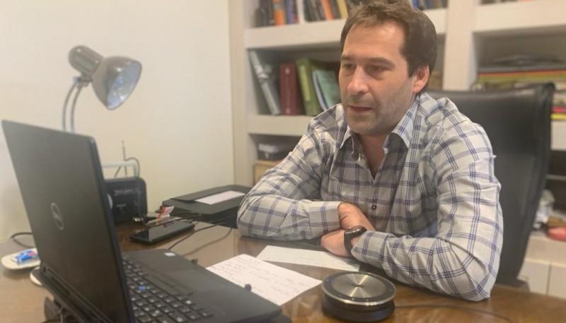 Luque participó de una videoconferencia con Alberto Fernández y referentes del Banco Credicoop