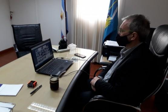 Ministro de Salud del Chubut, Fabián Puratich.