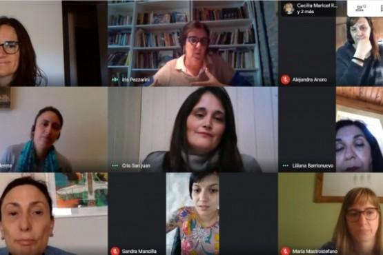Desarrollo Social participó de un encuentro virtual sobre la organización y estrategias de cuidados