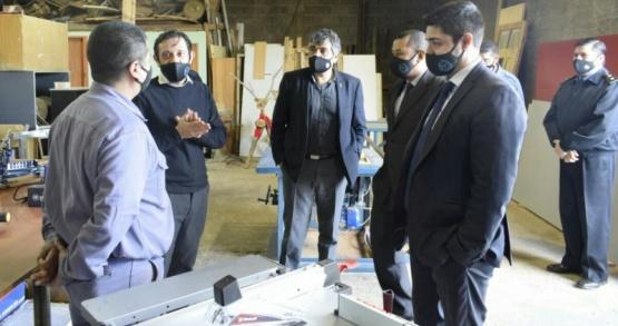 El Ministro de Seguridad junto a su equipo de trabajo