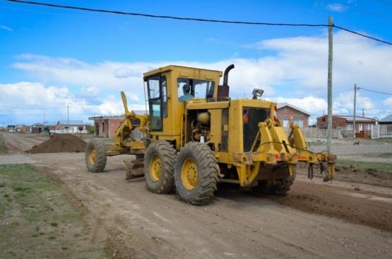 Avanzan obras de bacheo en Río Gallegos