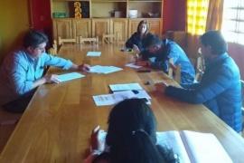 ATE firmó acuerdos con el Municipio de Corcovado