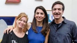 Se casó Gimena Macri, la hija artista del expresidente