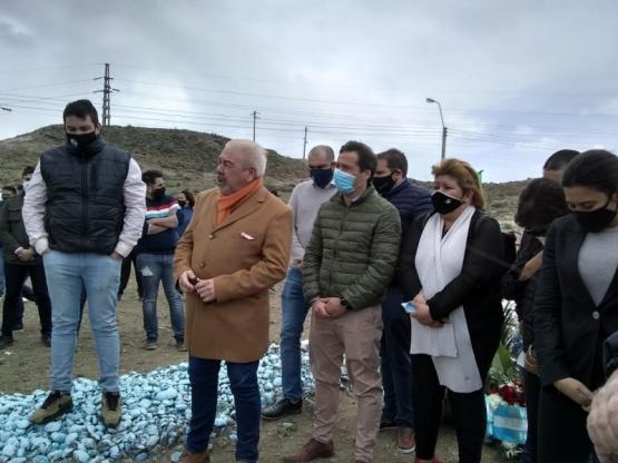 Acto por el fallecimiento de Néstor Kirchner.