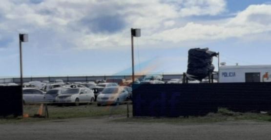 Cinco motos fueron robadas del corralón