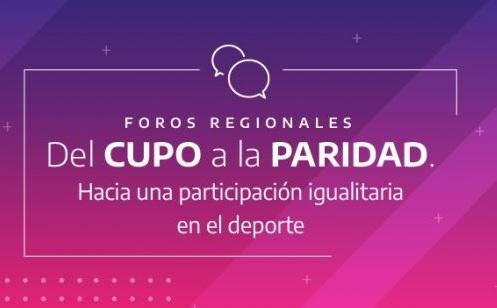 """Convocan a participar del Foro Regional """"Del Cupo a la Paridad"""""""
