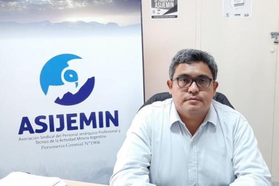 Marcelo Menna, secretario general de ASIJEMIN.