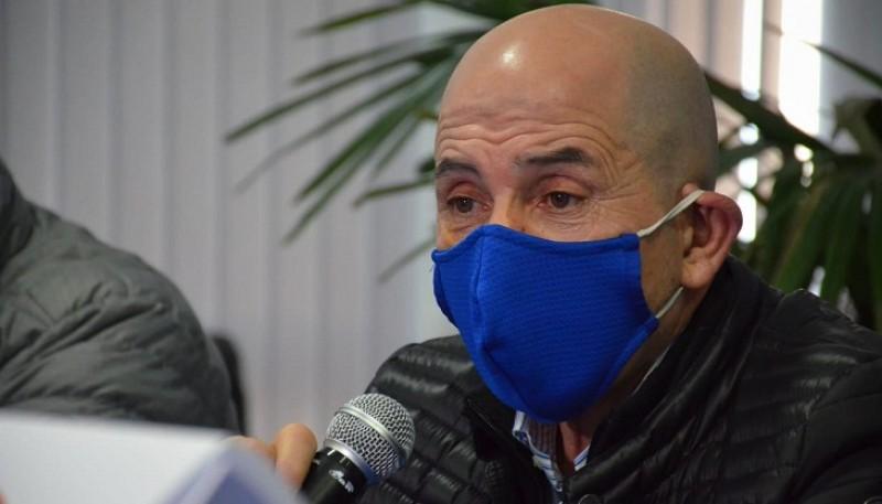 José Llugdar, secretario general del Sindicato Petrolero Jerárquico de la Patagonia Austral.