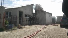 Incendio en una vivienda deja pérdidas totales