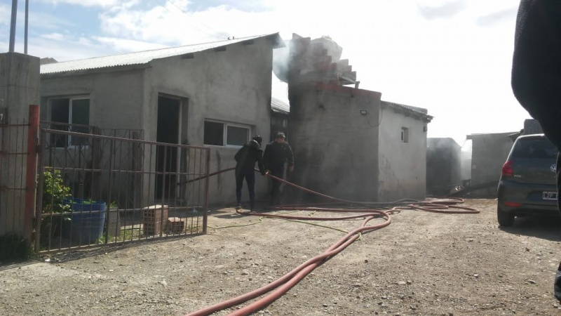 Incendio en una vivienda (L.F)