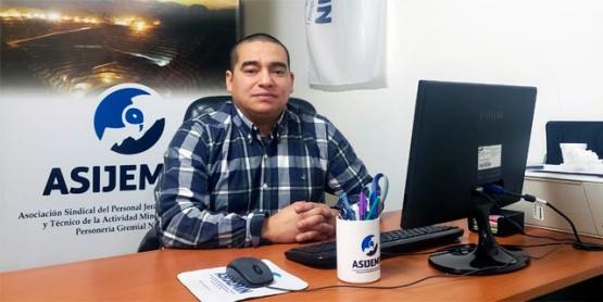 Luis Martínez, delegado regional Patagonia de ASIJEMIN
