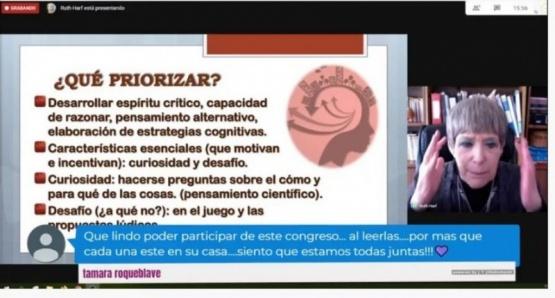 Comenzó hoy con 800 inscriptos el 1° Congreso Virtual de Educación Inicial