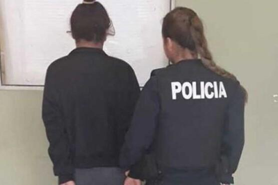 Madre truncadense fue detenida por agredir a su bebe