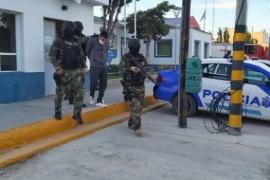 Indagaron al detenido en los múltiples allanamientos
