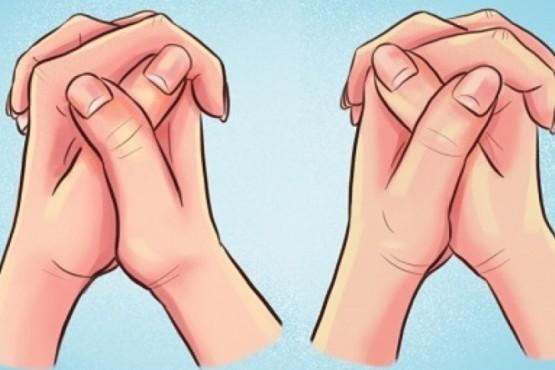 ¿Cómo cruzás las manos?: el test psicológico que revela detalles íntimos de tu personalidad